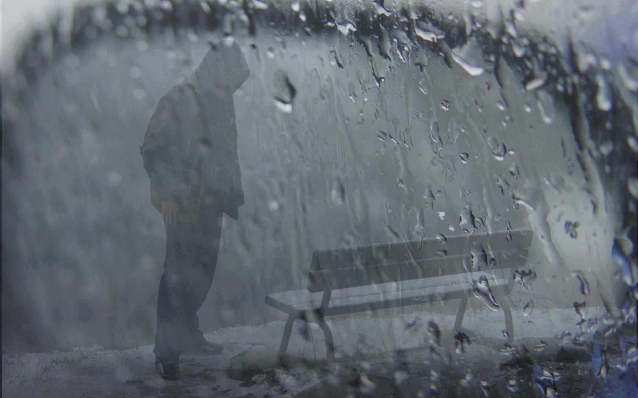 sad rainy movie scene - HD1024×768